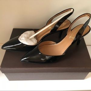 f3d54e77f2a Elie Tahari Shoes -  NWOT  Elie Tahari Westley Slingback Pump Black-8